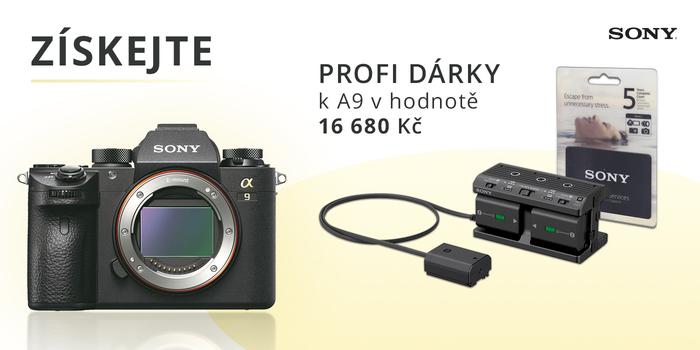 Profesionální Sony A9 nyní s příslušenstvím v hodnotě 16 680 Kč jako dárek
