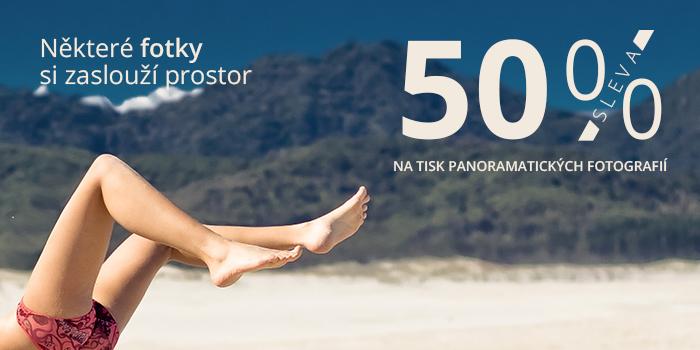 Do konce března 50% sleva na panorama fotografie nebo využijte 10% slevu na tiskové služby s ISIC kartou