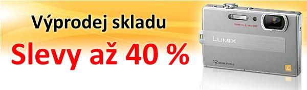Výprodej skladu, slevy až 40 %!