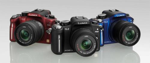 Panasonic G2 a G10 již v prodeji!
