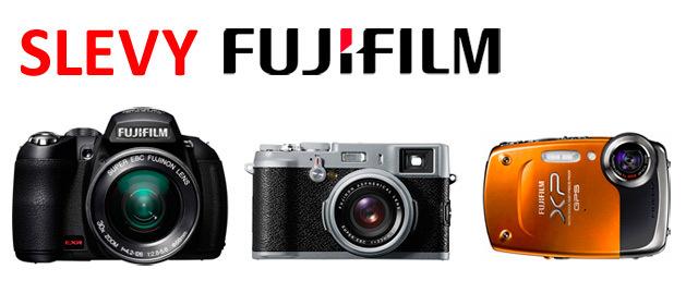 Snížení cen fotoaparátů Fuji a Pentax