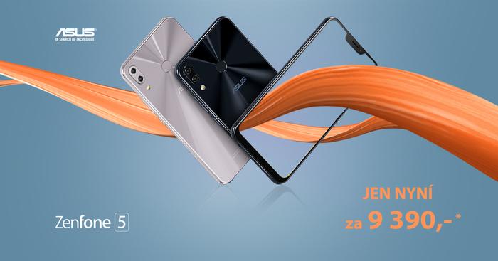 Asus Zenfone 5 za příjemných 9 390 Kč