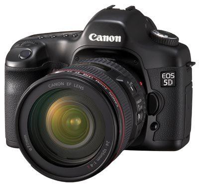 Canon EOS 5D + objektiv 24-105