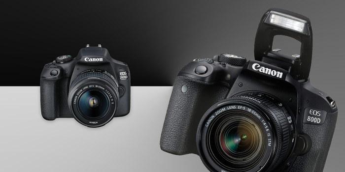 Zrcadlovky Canon za cenu kompaktu. Nově již od 7 790 Kč!