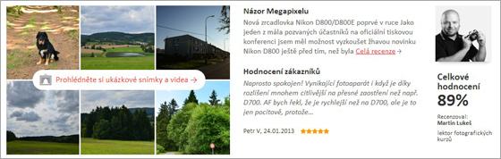 Recenze na Megapixel.cz