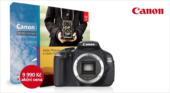 Canon EOS 600D až o 2 500 Kč levnější a navíc s Adobe Elements 11 zdarma