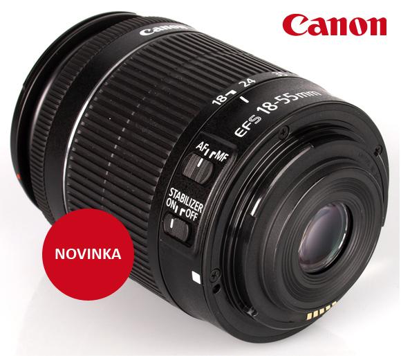 Přijďte si vyzkoušet objektivy Canon s plynulým ostřením