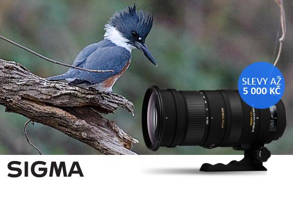 Objektivy Sigma se slevou až 5000 Kč