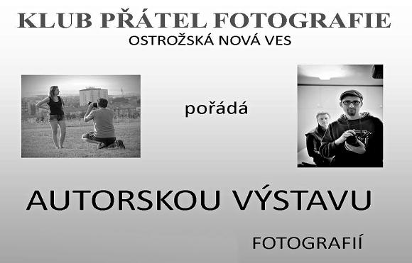 Výstava fotografií v Ostrožské Nové Vsi
