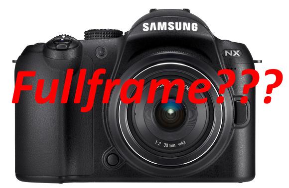 Samsung patrně chystá fullframe s označením NXF1