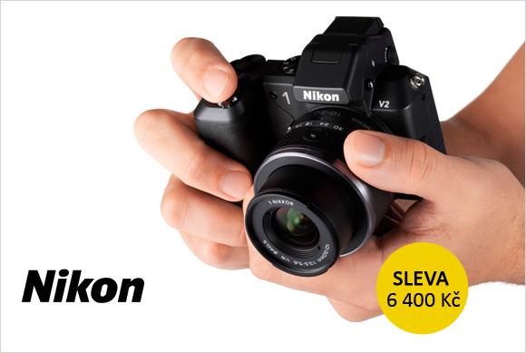 Nikon 1 V2 je nyní levnější o 6400 Kč
