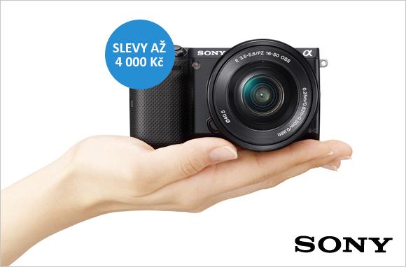 Sony NEX-5T nyní se slevou až 4 000 Kč