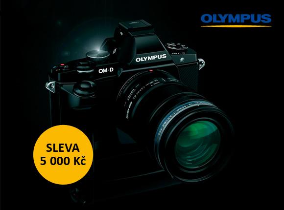 Využijte slev až 5 000 Kč na fotoaparáty Olympus
