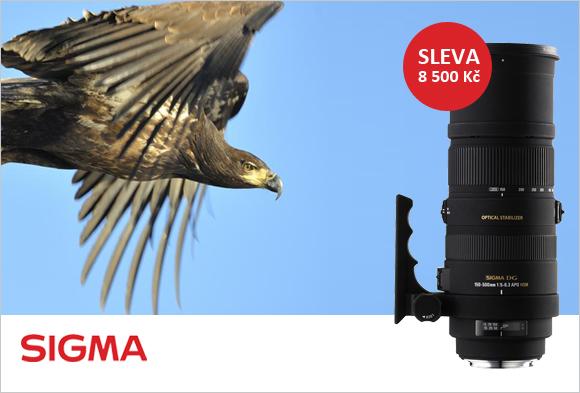 Pořiďte si teleobjektiv Sigma 150-500mm OS HSM se slevou 8 500 Kč!