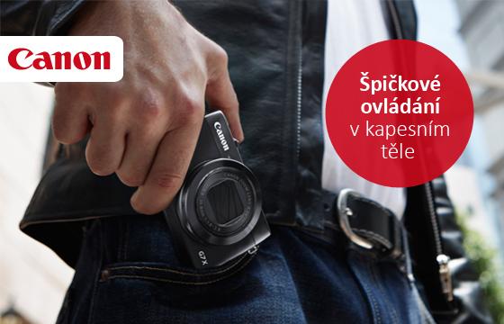 Novinka Canon PowerShot G7 X skladem!