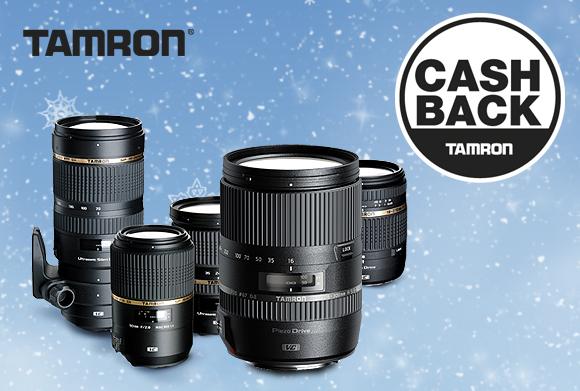 Vánoční Cashback Tamron - ušetřete až 1 500 Kč!