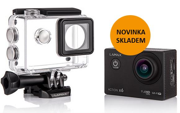 Outdoorové kamery Lamax nově v naší nabídce