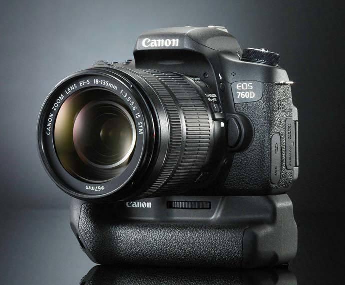 Canon EOS 760D poprvé v ruce