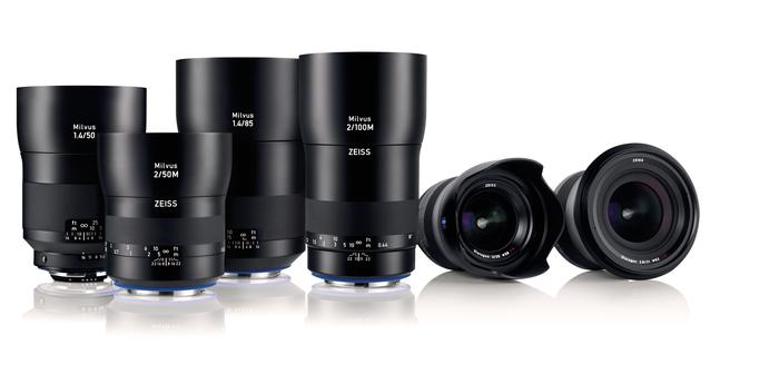 ZEISS Milvus - nová řada špičkových objektivů pro Canon a Nikon