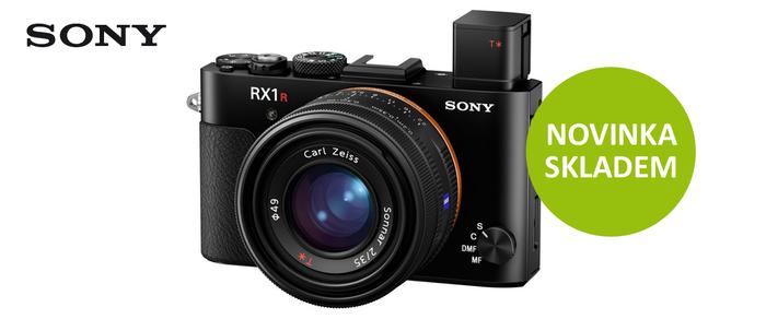 Špičkový fullframe kompakt Sony DSC-RX1R II je již skladem