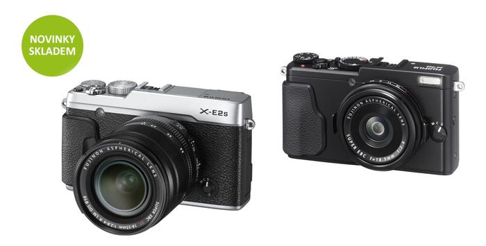 Naskladnili jsme novinky Fujifilm X-E2s a X70