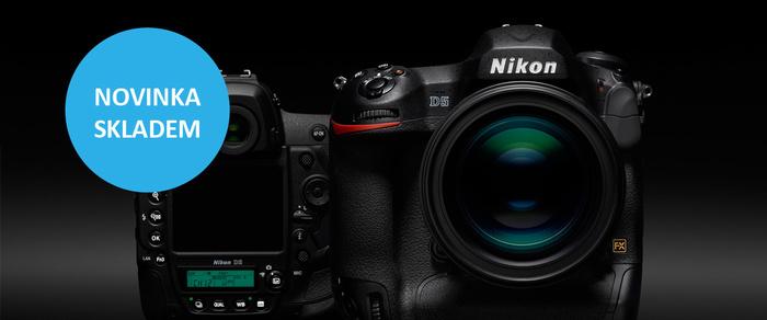 Profesionální Nikon D5 je ode dneška skladem