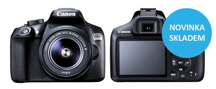 Nový Canon EOS 1300D již máme skladem