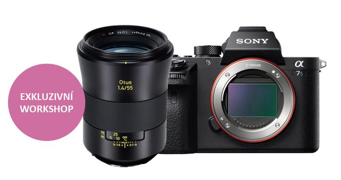 Přijďte si vyzkoušet špičkové fotoaparáty Sony Alpha spolu s objektivy Zeiss