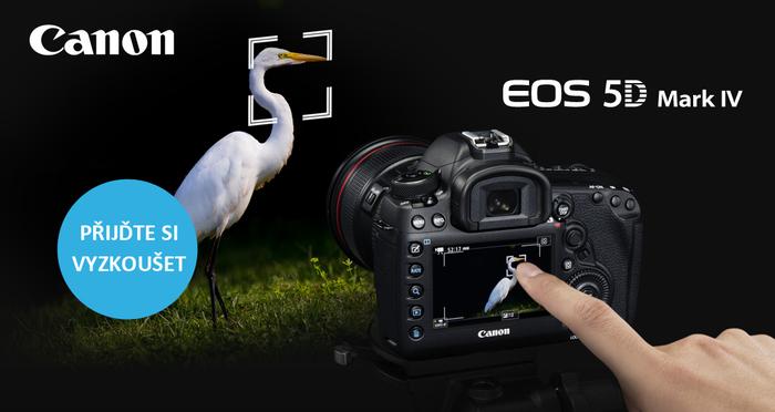 Přijďte na oficiální představení žhavé novinky Canon EOS 5D MK IV