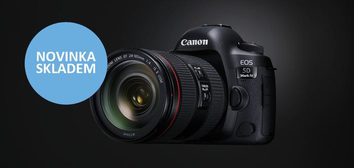 Naskladnili jsme očekávaný Canon EOS 5D Mark IV