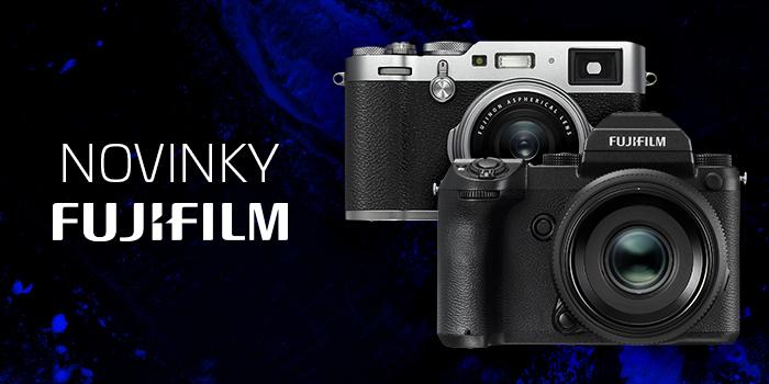 Přijďte si poprvé otestovat špičkový středoformát Fujifilm GFX 50S a designový Fujifilm X100F