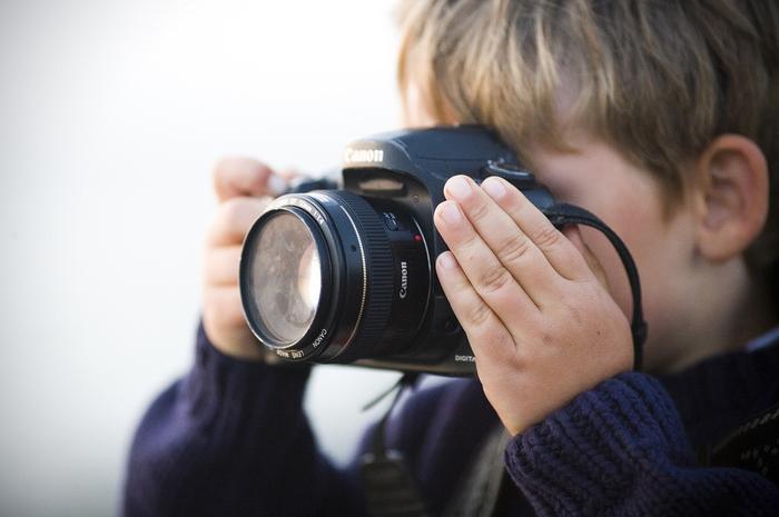 Jaký vybrat foťák pro děti