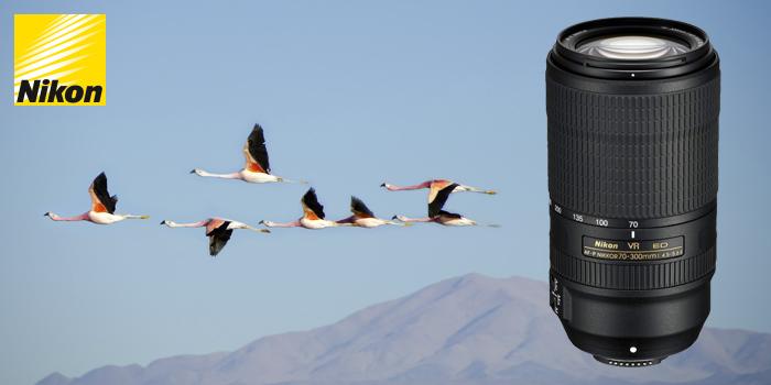 Nikon představil nový NIKKOR 70–300 mm AF-P ED VR