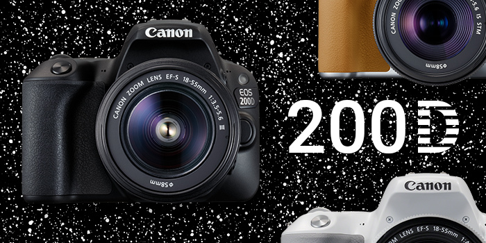 Novinka Canon EOS 200D je již skladem