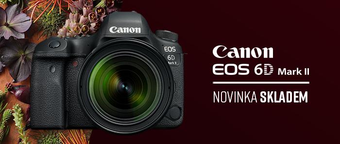 Novinka Canon EOS 6D mark II skladem!