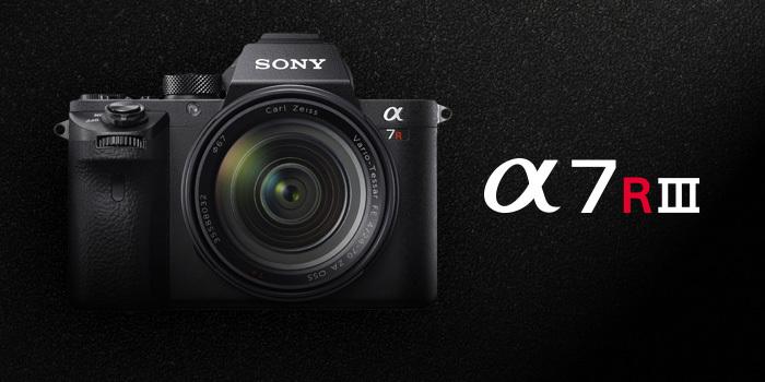 Rezervujte si nový Sony A7R III a obdržíte balíček výhod a dárků