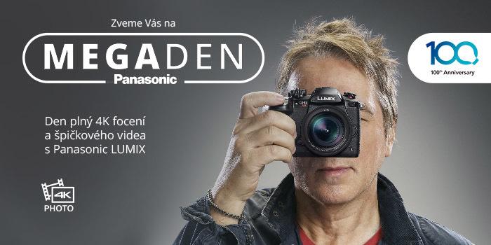 100 + 10 důvodů k oslavám. MEGAden Panasonic je tady!
