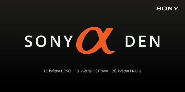 Jarní Sony Alpha Den už 12. května
