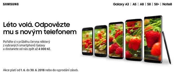 Cashback Samsung startuje - pořiďte si nový telefon až o 4 000 Kč levněji a s hodnotnými foto/video dárky