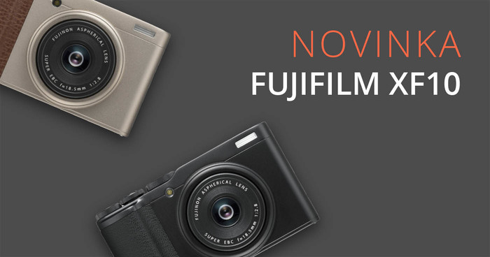 Představujeme Fujifilm XF10