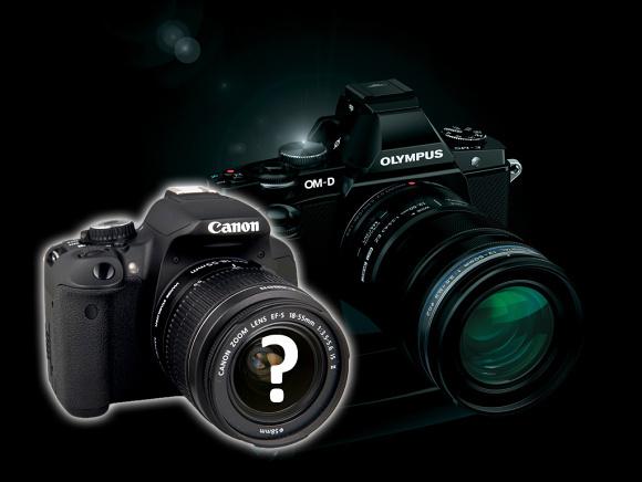 Super malá zrcadlovka Canon místo kompaktu s výměnným objektivem
