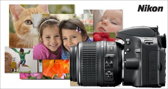 Sleva zrcadlovek Nikon D3100 a D3200 a kompaktních fotoaparátů