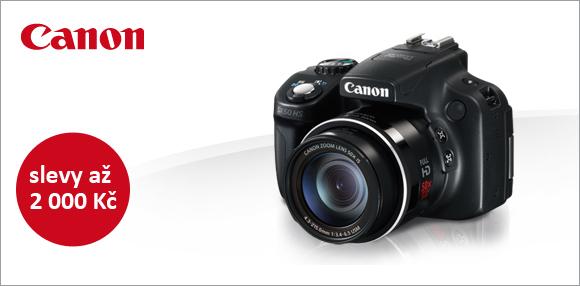 Slevy Canonu Powershot G15, S110, SX50 a dalších kompaktů