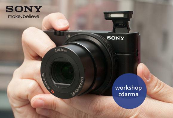 Přijďte na workshop zdarma věnovaný fotoaparátům Sony Cybershot RX100