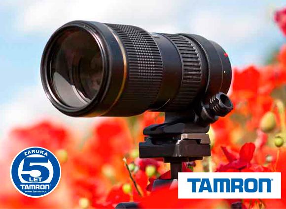 Špičkový teleobjektiv Tamron 70-200mm f/2.8 je nyní o 2 000 Kč levnější