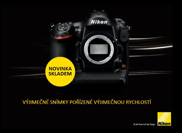 Vlajková loď Nikon D4S skladem