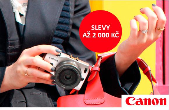 Zlevňujeme ideální fotoaparáty pro vaši dovolenou až o 2000 Kč