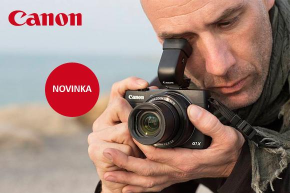 Výkonný kompakt Canon PowerShot G1 X Mark II skladem