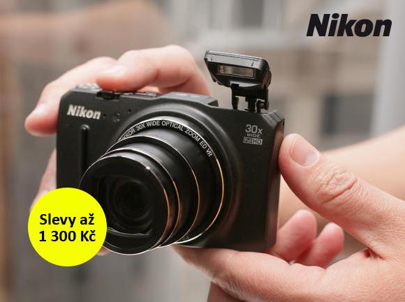 Kompakty Nikon se slevou až 1 300 Kč