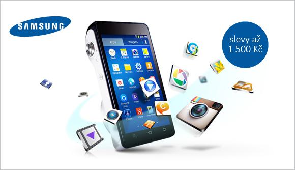 Moderní foťáky Samsung nyní se slevou až 1 500 Kč